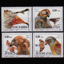 YUGOSLAVIA 1994 - Scott# 2237a-d Raptors Set of 4 NH
