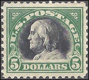 524 Mint,OG,NH... SCV $340.00... VF/XF+