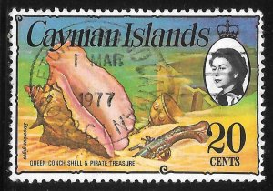 [7072] Cayman Islands # 341 Used