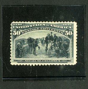 US Stamps # 240 F-VF Strong color dist OG LH