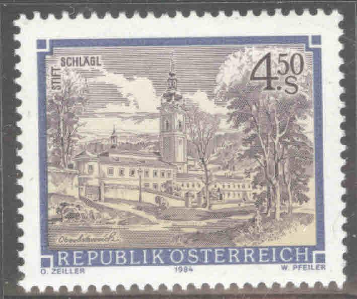 Austria Osterreich Scott 1287 MNH** from 1984-85 Monastery Abbey set