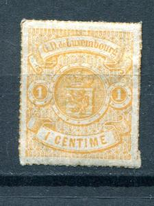 Luxembourg #18  Mint   VF - Lakeshore Philatelics
