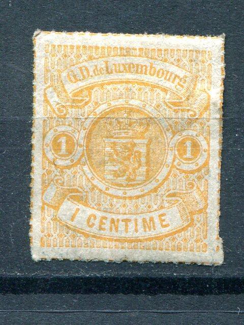 Luxembourg #18  Mint   VF - Lakeshore Philatelics