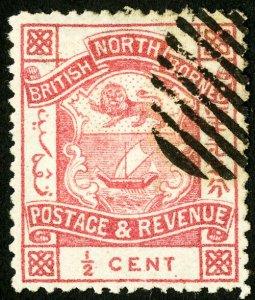 North Borneo Stamps # 25 VF Used Scott Value $21.00