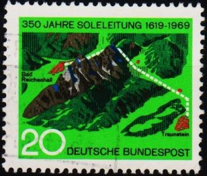 Germany.. 1969 20pf S.G.1502 Fine Used