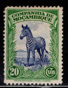 Mozambique Company Scott 179 MH* zebra stamp with similar centering