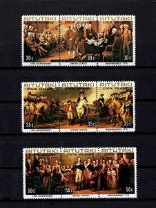 AITUTAKI - 1976 - BICENTENNIAL - WASHINGTON - YORKTOWN - INDEPENDENCE - MNH S/S!