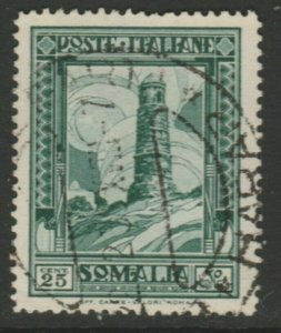 Somalia 1935-38 25c Perf. 14 Usato Italia Colonie Italy Colony A18P13F185