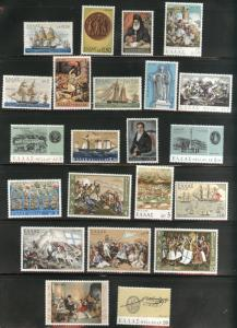 GREECE Scott 1005-1026 MNH** 1971 set of 22 Military related