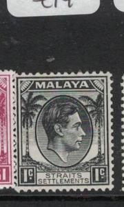 Malaya Straits SG 278 MOG (1dqz)
