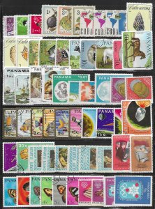 Cuba mini collection 112 diff. mixed stamps at 5¢ a stamp SCV $? - 13000