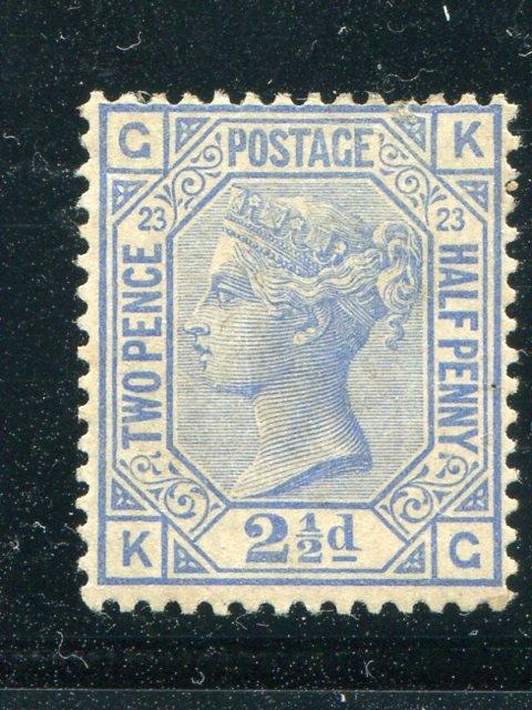 Great Britain  #82  Mint F-VF Cat $425 -  Lakeshore Philatelics