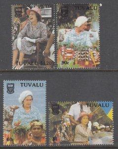 Tuvalu 507-510 MNH VF
