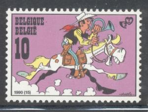 Belgium Sc 1387 1990 Youth Philately stamp mint NH