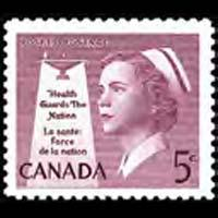 CANADA 1958 - Scott# 380 Nurse Set of 1 NH
