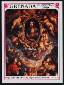 Grenada 1789 MNH Christmas, Virgin & Child