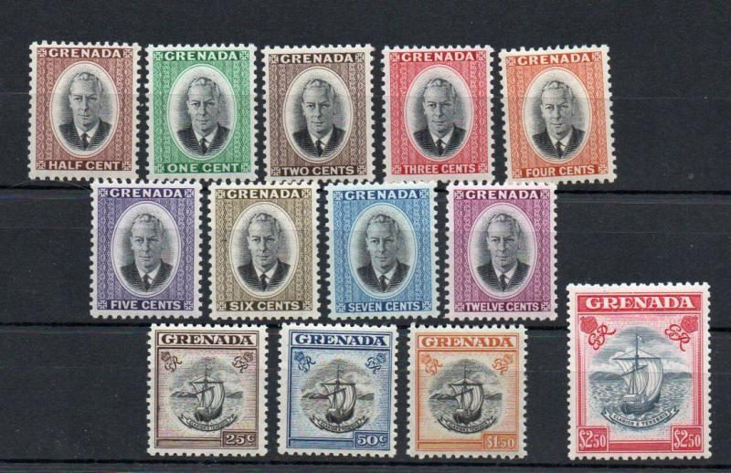 Grenada - SG# 172 - 184 MNH (few possible VLH) -  Lot 1118170