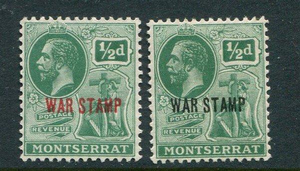 Montserrat #MR1-2 Mint - penny auction