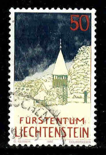 Liechtenstein # 991 ~ Used, HMR ~ cv .60