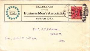 1907, Business Men's Association, Newton to Humboldt, IA (11015)