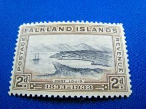 FALKLAND ISLANDS   -  SCOTT #68  -  MH      (wwf1)