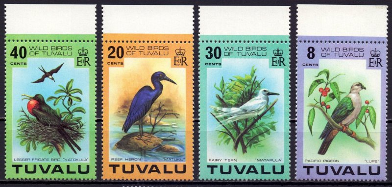 Tuvalu. 1978. 58-61. Birds fauna. MNH.