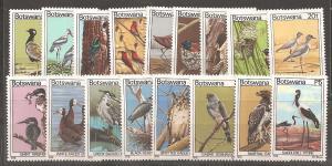 Botswana SC 198-214 MNH