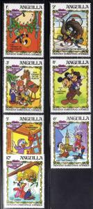 ANGUILA/ANGUILLA 1983 MNH SC.547/553 Christmas,Disney