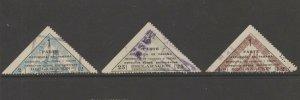 Panama Cinderella revenue fiscal stamp 3-18-