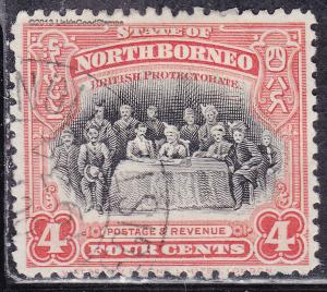 North Borneo 140 USED 1909 Meeting of the Assembly