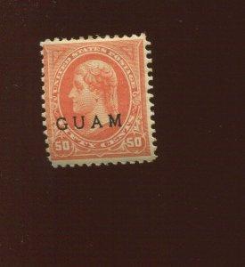 GUAM  11 Overprint Mint Stamp (Bx 525)