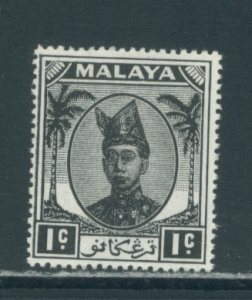 Malaya - Trengganu 53  MLH cgs