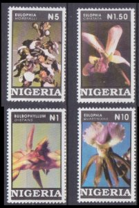 1993 Nigeria 619-622 Flowers