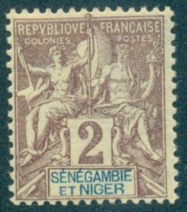 Senegambia & Niger #2  Mint  Scott $2.50
