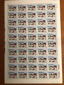 US #2400 Sheet of 50 MNH - One-horse Open Sleigh