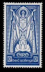 IRELAND GVI SG125b, 10s deep blue, M MINT. Cat £19.