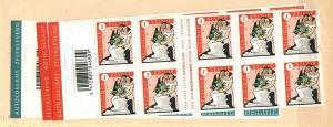 Belgium Scott 2272a-74a Mint NH booklets (Catalog Value $48.00)