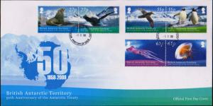 British Antarctic Territory Scott 414-416 Unaddressed.