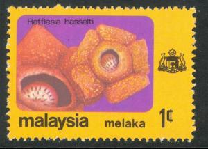 MALAYSIA MALACCA 1979 1c FLOWERS Issue Scott No. 81 MNH