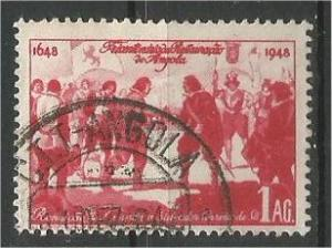 ANGOLA, 1948, used 1a Surrender of Luanda Scott 309