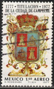 MEXICO C545, 200th Anniv of the naming of Campeche Used F-VF. (906)