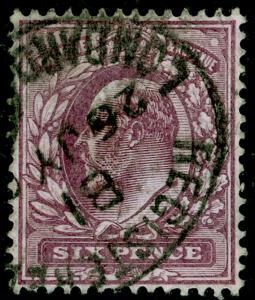 SG245 SPEC M32(-), 6d dull purple (C), FINE USED. Cat UNLISTED. OCP.