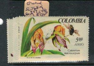 Colombia Orchid SC 768-9, 489, C496 MOG (4euw)
