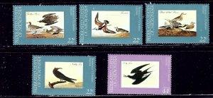 Micronesia 25-28 and C15 MNH 1985 Birds   (ap2080)