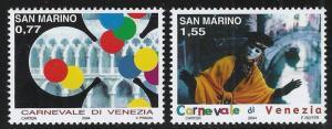 San Marino ~ Scott # 1595-1596 ~ MNH