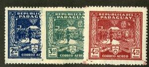 PARAGUAY C36-8 MNH SCV $2.10 BIN $1.10