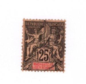 Madagascar #38 Used - Stamp CAT VALUE $4.50