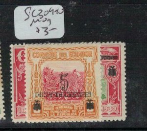 Ecuador SC 309-10 MOG (2ebw)