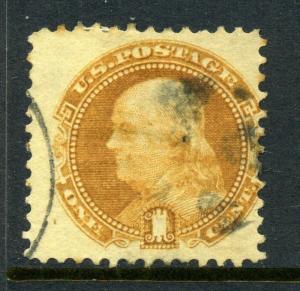 Scott #112 Franklin Used Stamp (Stock #112-8)