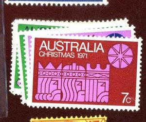 AUSTRALIA #508A-G MINT VF OG LH Cat $32